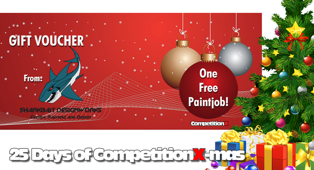25 Days of CompetitionX-mas 2018 - Free Custom Paintjob - Sharkbait Designworks | CompetitionX