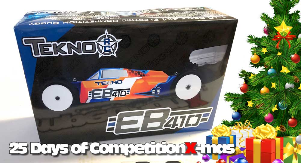 25 Days of CompetitionX-mas 2018 - 4-Wheel Fun From Tekno!