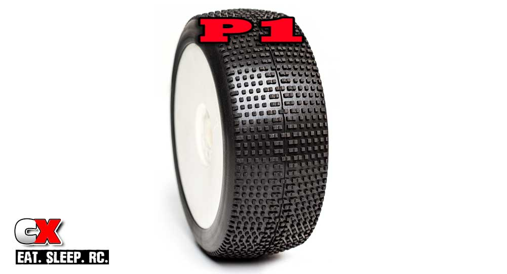 AKA P1 1:8 Scale Race Tire | CompetitionX