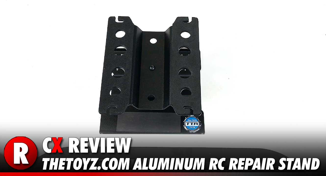 Review: TheToyz.com Aluminum RC Pit Repair Stand | CompetitionX
