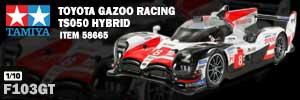 Tamiya 58665 Toyota Gazoo Racing TS050 Hybrid