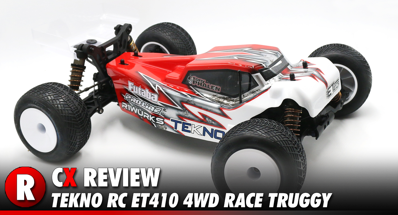Review: Tekno RC ET410 4WD 1:10 Scale Race Truggy   CompetitionX