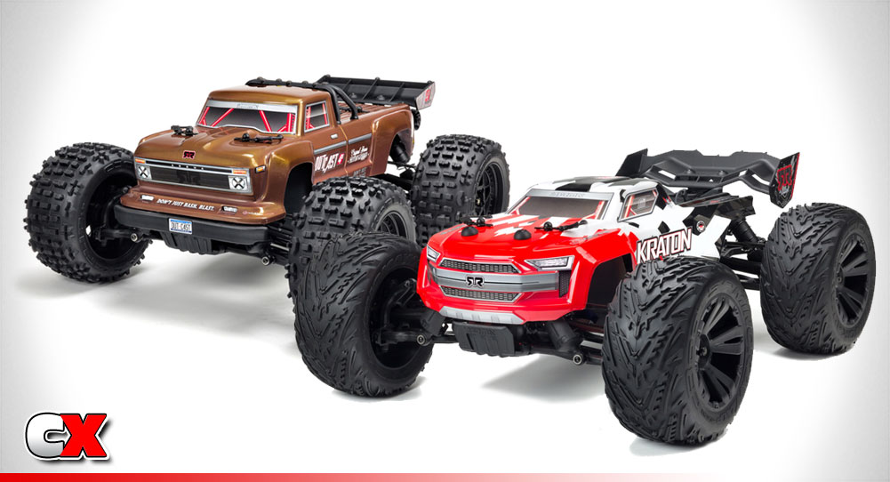 ARRMA Outcast/Kraton 4x4 4S BLX Monster Trucks | CompetitionX