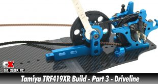 Tamiya TRF419XR Touring Car Build - Part 3 - Driveline | CompetitionX