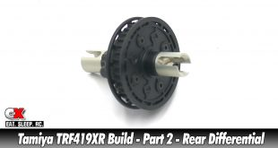 Tamiya TRF419XR Touring Car Build - Part 2 - Rear Differential | CompetitionX