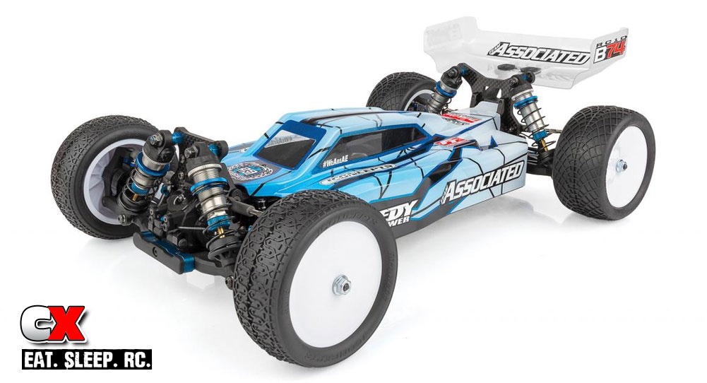Team Associated RC10B74 1:10 4WD Offroad Buggy | CompetitionX