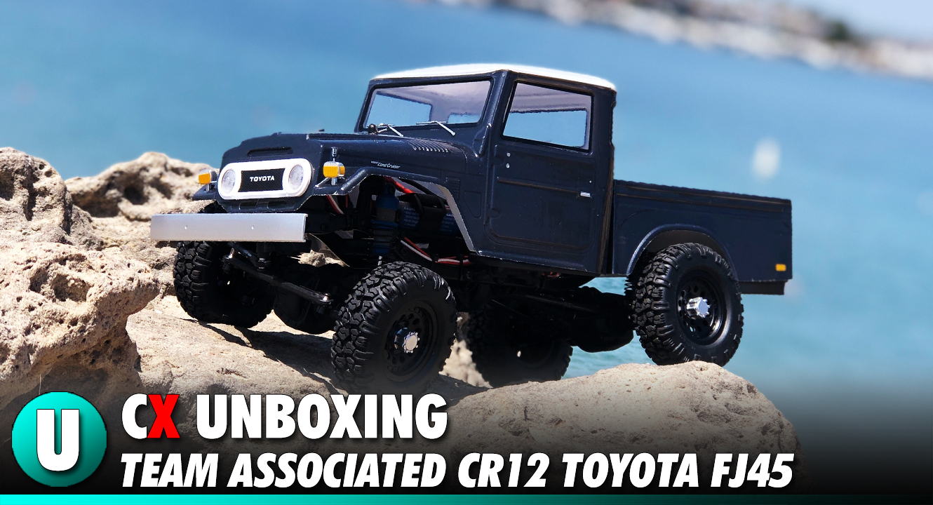 Team Associated CR12 Trail Series Toyota FJ45 Unboxing | CompetitionX