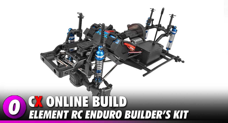 Element RC Enduro Trail Truck Build | CompetitionX