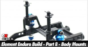 Element RC Enduro Trail Truck Build - Part 8 - Body Mounts | CompetitionX
