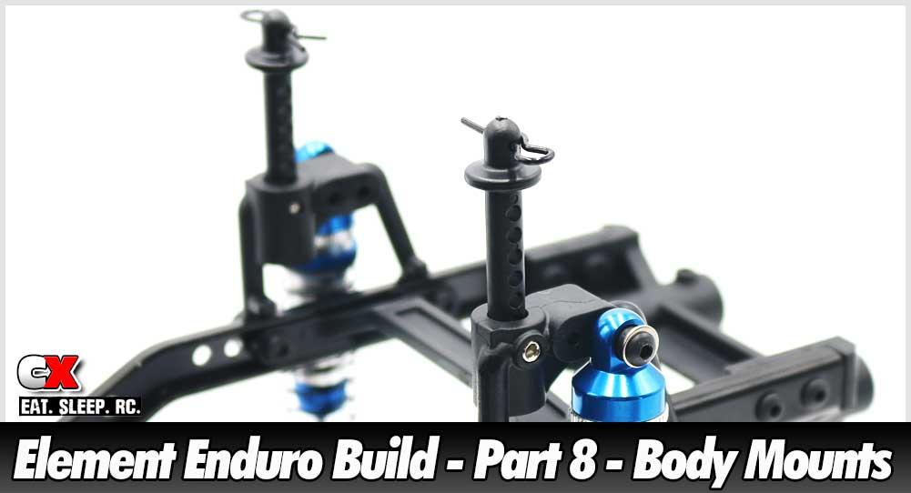 Element RC Enduro Trail Truck Build - Part 8 - Body Mounts | CompetitionX