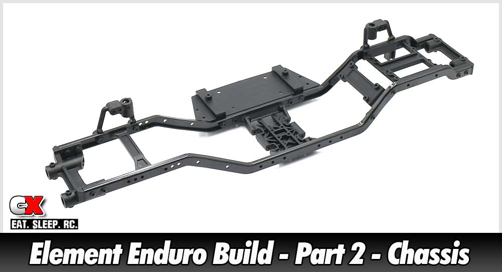 Element RC Enduro Trail Truck Build - Part 2 - Chassis | CompetitionX