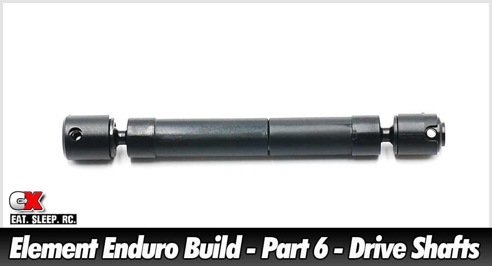 Element RC Enduro Trail Truck Build - Part 6 - Drive Shafts | CompetitionX