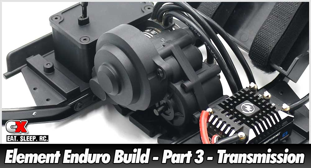 Element RC Enduro Trail Truck Build - Part 3 - Transmission | CompetitionX