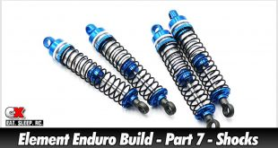 Element RC Enduro Trail Truck Build - Part 7 - Shocks | CompetitionX