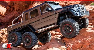 Traxxas TRX-4 Mercedes-Benz G 63 AMG 6x6 | CompetitionX