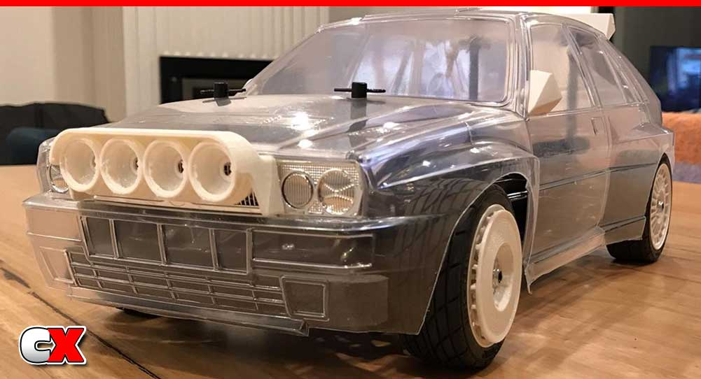 Knight Customs 3D Printed Parts - Tamiya Lancia Delta Integrale Rally Car | CompetitionX