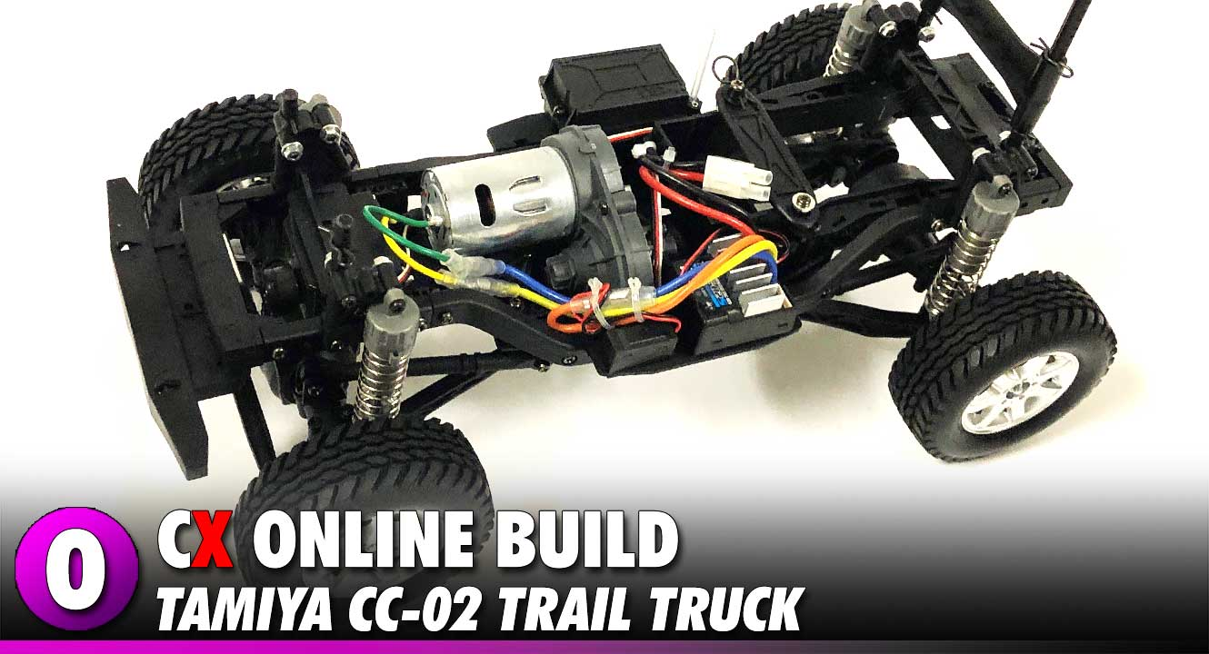Tamiya CC-02 Trail Truck Build | CompetitionX