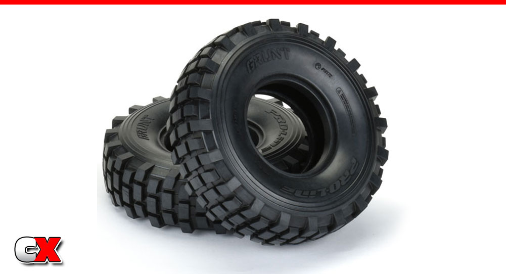 New Pro-Line Racing Tires - Grunt, Avenger HP and Reaction HP | CompetitionX