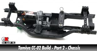 Tamiya CC-02 Trail Truck Build – Part 2 – Chassis | CompetitionX