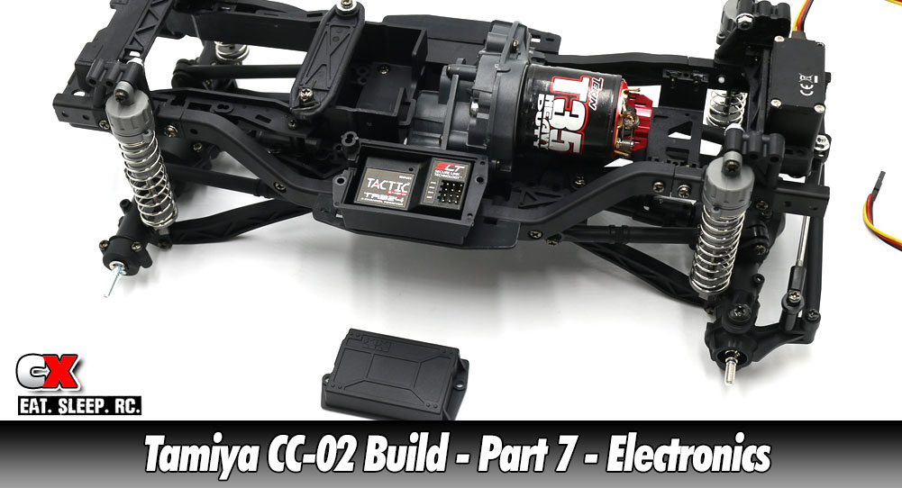 Tamiya CC-02 Trail Truck Build – Part 7 – Electronics | CompetitionX