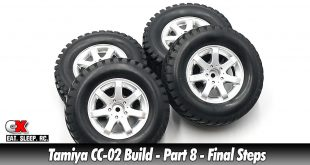 Tamiya CC-02 Trail Truck Build – Part 8 – Final Steps | CompetitionX