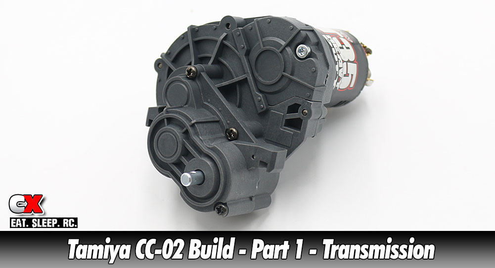 Tamiya CC-02 Trail Truck Build – Part 1 – Transmission | CompetitionX