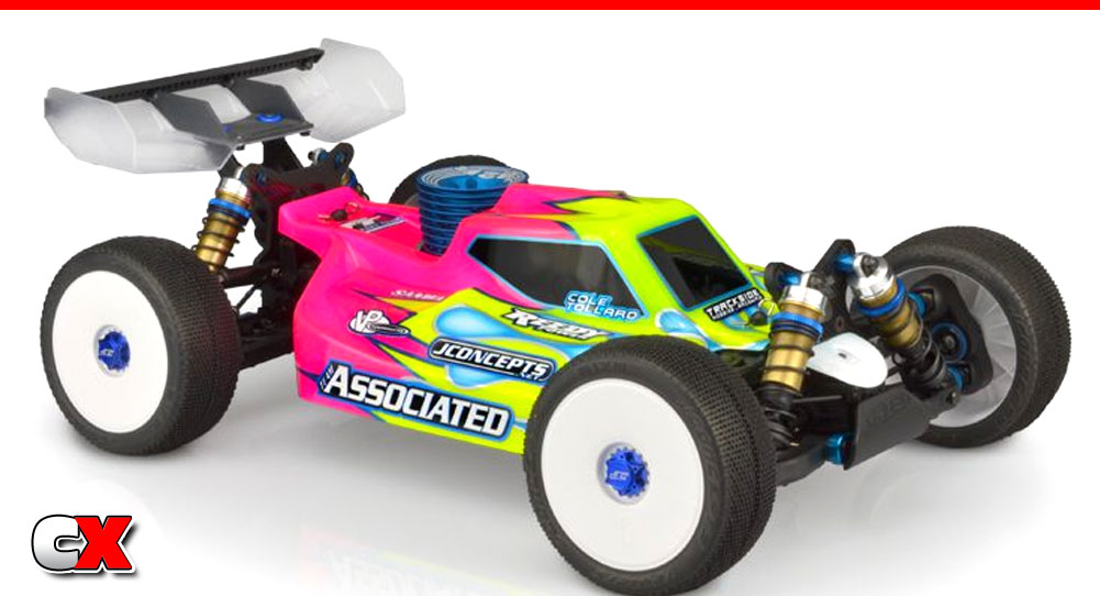 JConcepts S15 Body for the Team Associated RC8B3.1 | CompetitionX