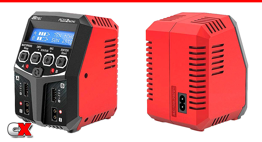 Hitec RDX2 Mini AC Balance Charger | CompetitionX