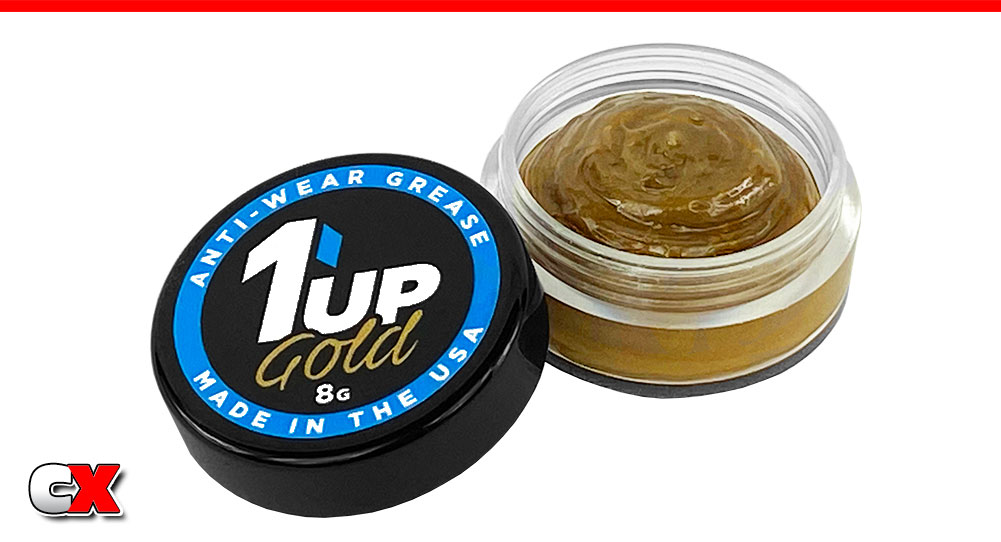 1up Racing Anti-Wear & O-Ring Grease in XL Sizes   CompetitionX