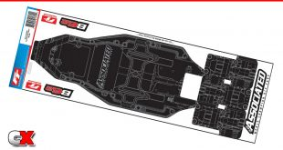 Team Associated Printed B6.2 FT Chassis Protective Sheet | CompetitionX