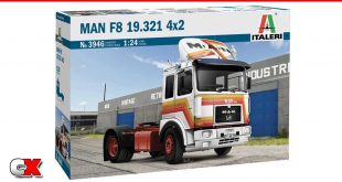 Italeri MAN F8 4x2 Commercial Truck | CompetitionX