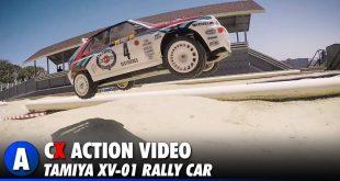 Video: Tamiya XV-01 Rally Car Track Day - Tamiya America Track   CompetitionX