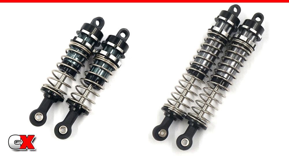 Xtra Speed Aluminum Shocks - Tamiya TT02B | CompetitionX