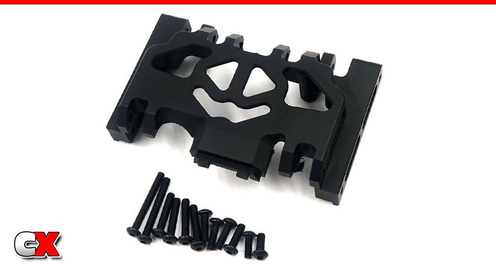 Xtra Speed Aluminum Skid Plate/Steel Link Set - Traxxas TRX-4 | CompetitionX