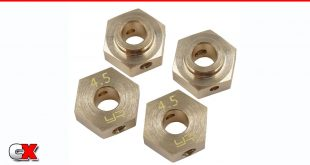 Yeah Racing Brass Hex Adapters - Axial SCX10 III / Capra | CompetitionX