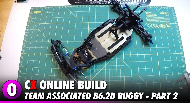 Team Associated B6.2D Video Build - Part 2 | CompetitionX