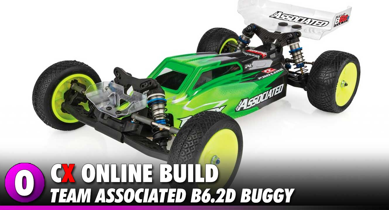 Team Associated B6.2D Video Build - Part 1 | CompetitionX