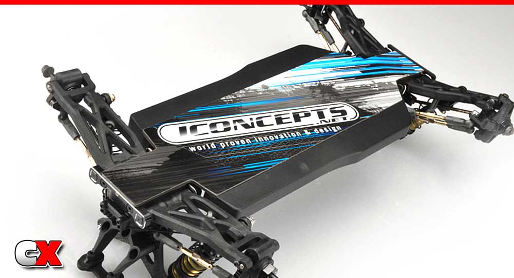 JConcepts Pre-Cut Chassis Protector - TLR 22X-4 | CompetitionX