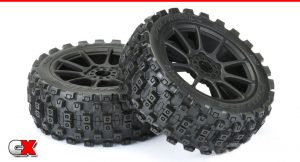 Pro-Line Racing Badlands MX M2 All Terrain 1/8 Buggy Tires - Mounted