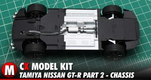 Video: Tamiya Nissan GT-R Model Kit Build Part 1 - The Chassis | CompetitionX