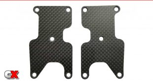 Team Associated RC8B3.2 Carbon Fiber Suspension Arm Inserts   CompetitionX