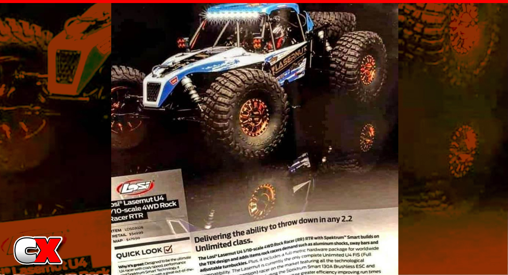 Losi Lasernut U4 4WD Rock Racer RTR | CompetitionX