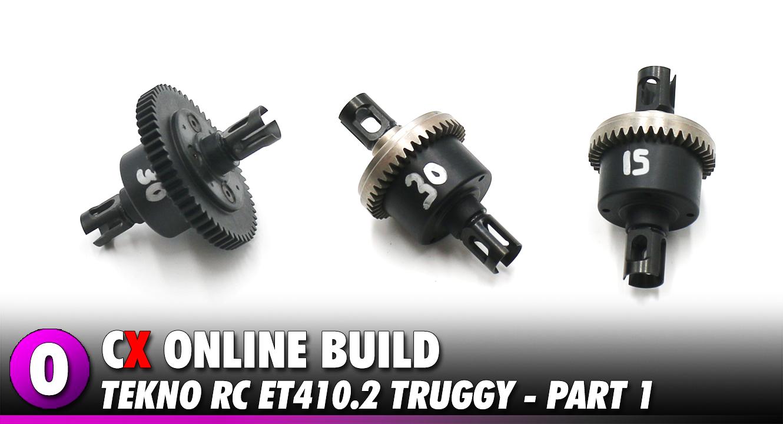 Video: Tekno RC ET410.2 Video Build – Part 1   CompetitionX