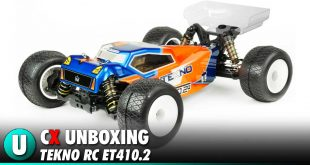 Video: Tekno RC ET410.2 Competition Truggy Unboxing | CompetitionX