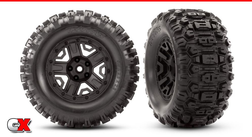 Traxxas Sledgehammer Extreme Terrain Tires | CompetitionX