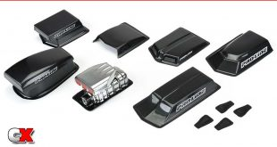Pro-Line Racing No Prep Drag Racing Scale Pieces   CompetitionX