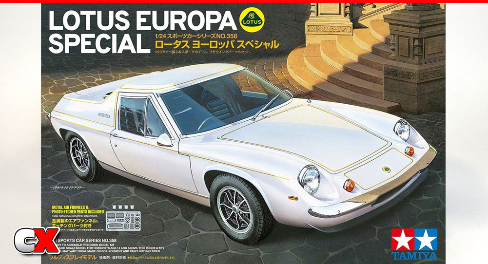 Tamiya Lotus Europa Special Model Kit | CompetitionX