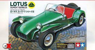Tamiya Lotus Super 7 Series II Model Kit | CompetitionX