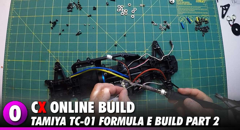 Video: Tamiya Formula E TC-01 Video Build – Part 2 | CompetitionX
