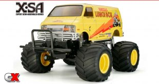 Two New X-SA Rides from Tamiya - Lunch Box and Hornet   CompetitionX